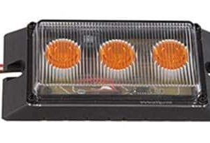 LED Low Profile Amber Marker Light