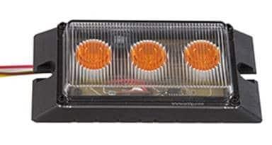 LED Low Profile Amber Marker Light