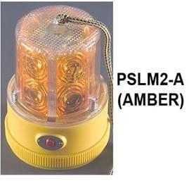 Mag Transport Light Incl 2-D Cell Alkaline in Amber
