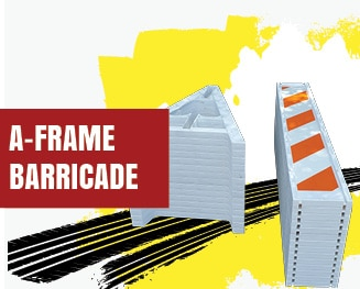 a frame barricade