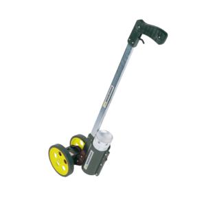 "Measuring Wheel, 6"" Hi Viz, Dual Wheel With Paint Sprayer"