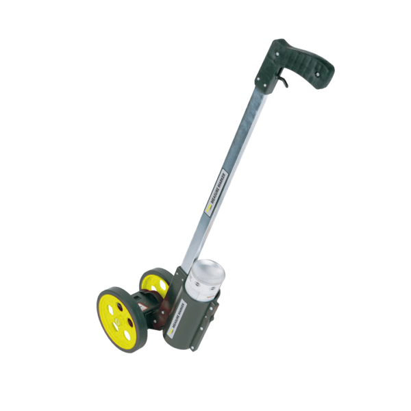 "Measuring Wheel, 6"" Hi Viz, Dual Wheel With Paint Sprayer"